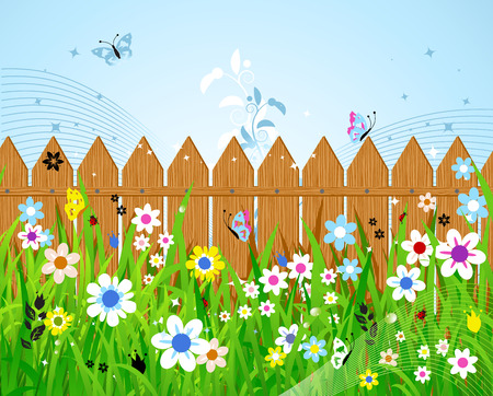 Summer day Stock Vector - 5168002