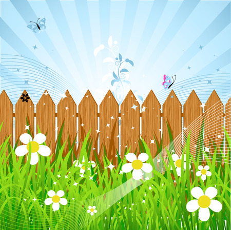 Summer day Stock Vector - 5168001