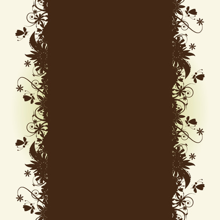 Floral seamless background for your design Vector