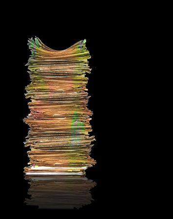 Heap of papers Stock Photo - 5195126
