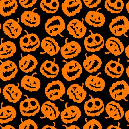 halloween pattern: Halloween holiday, seamless background Illustration