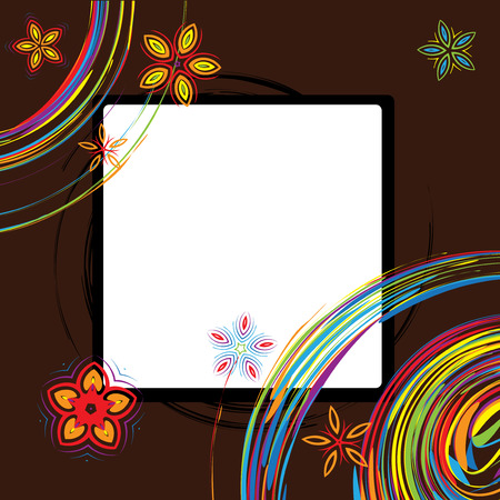 Picture frame design, place for your image or text Stock Vector - 5627494