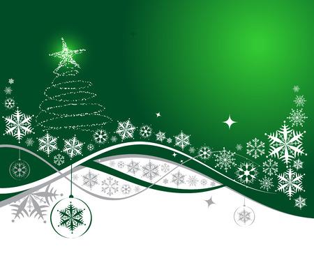 Christmas background vacances, illustration vectorielle pour votre design Vecteurs
