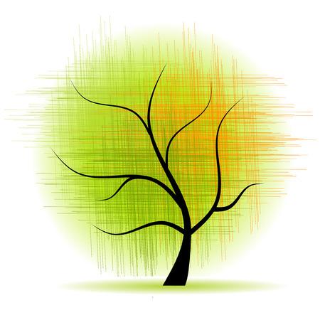 Art tree beautiful Vector