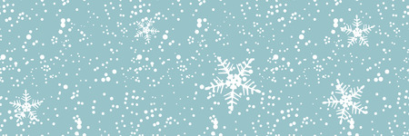 blizzard: Winter blizzard, seamless background for your design Illustration