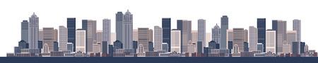 Cityscape background, urban art Stock Vector - 6416421