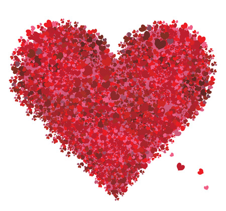 Valentine heart shape, love Stock Vector - 6416444