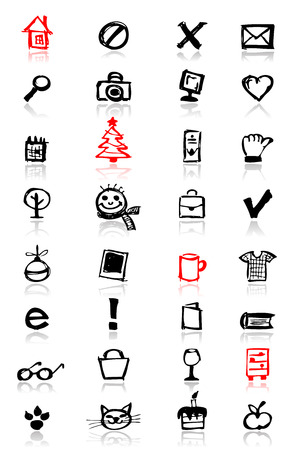 Icons collection for your design Vector