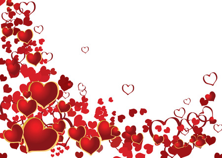 Valentine background with place for your text Stock Vector - 6424579
