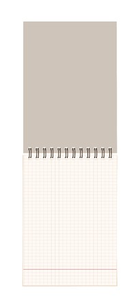 Notebook open page for your design Stock Vector - 7770114