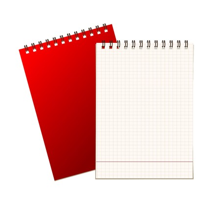 Notebook cover and page for your design Stock Vector - 7770128