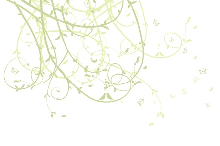 Leaf green silhouette for your design Vector