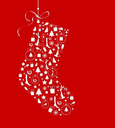 stockings: Christmas stocking for your design