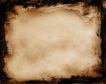 quemado: Antiguo fondo grunge para su dise�o Foto de archivo