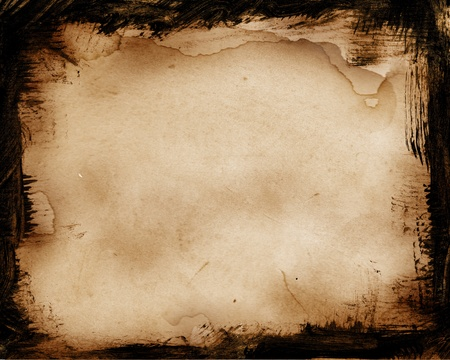 burnt wood: Old grunge background for your design