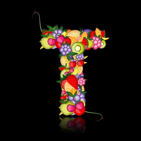 pineapples: Carta de frutas para su dise�o. Ver otros en mi Galer�a