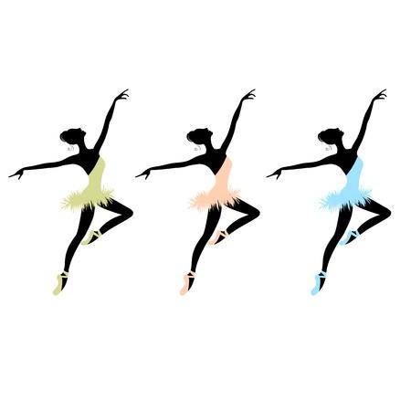 Ballet dancers for your design Stock Vector - 9348142