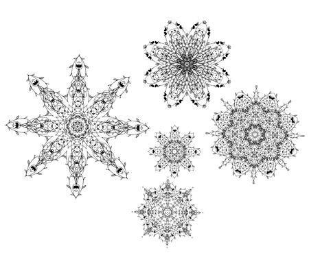 rosette: Conjunto de ornamentos arabescos para su dise�o