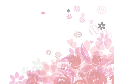 Floral background for your design Stock Vector - 9579828