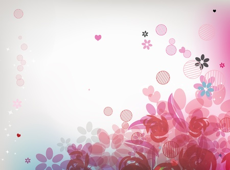 Floral background for your design Stock Vector - 9579833