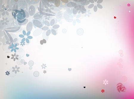 Floral background for your design Vector