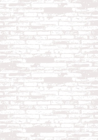 Grey brick wall for your design Vector