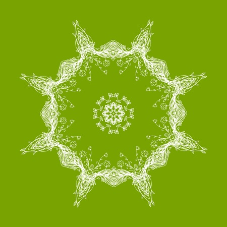 Arabesque ornament for your design  Stock Vector - 10286416