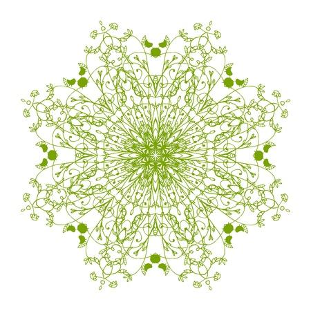 Arabesque ornament for your design Stock Vector - 10286351