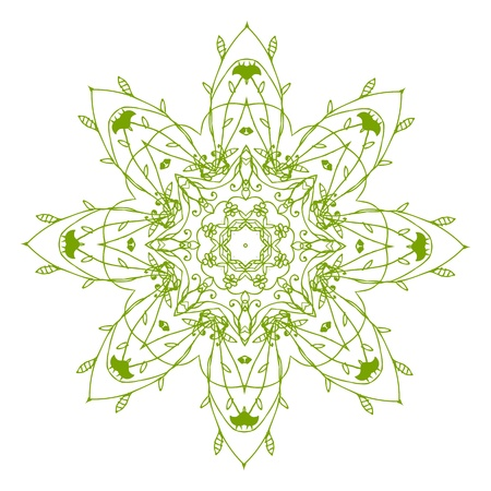 Arabesque ornament for your design Stock Vector - 10286344