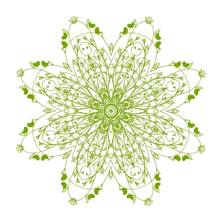 Arabesque ornament for your design  Vector