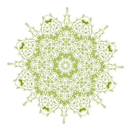 Arabesque ornament for your design Stock Vector - 10286407