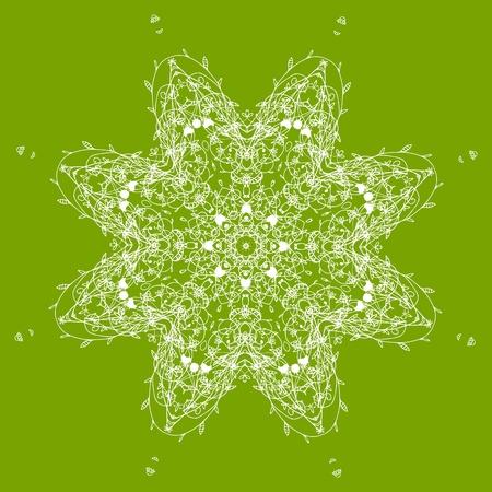 Arabesque ornament for your design  Stock Vector - 10286415