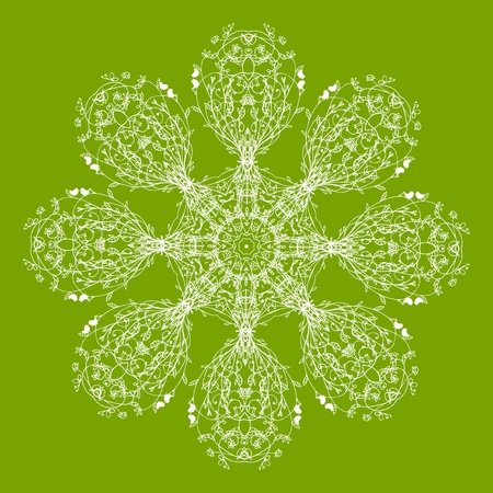 Arabesque ornament for your design Stock Vector - 10286414