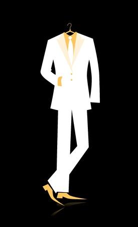 ceremonial clothing: Man Illustration