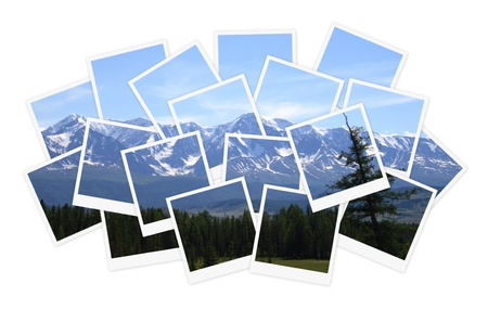 Landscape, collage of photos for your design Stock Photo - 10292643