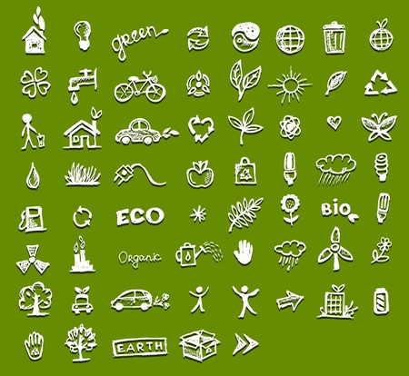 Ecology icons for your design Stock Vector - 10407410