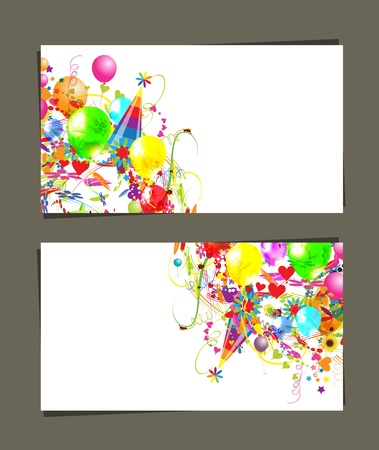Gift card with place for your text Vector