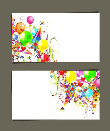fondo para tarjetas: Tarjeta de regalo con lugar para el texto Vectores