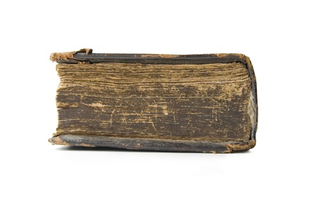 Medieval old book, psalter photo