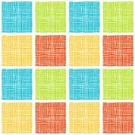 Fabric seamless background for your design  Vector