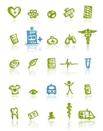 Medical icons for your design Stock Vector - 11264073