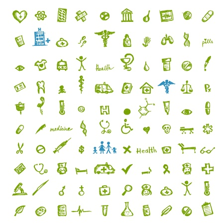 Medical icons for your design Stock Vector - 11264028