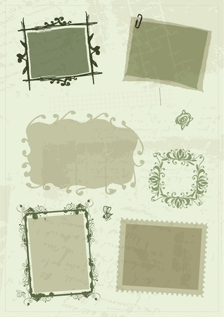 Sketch of frames, hand drawing for your design Stock Vector - 11476229
