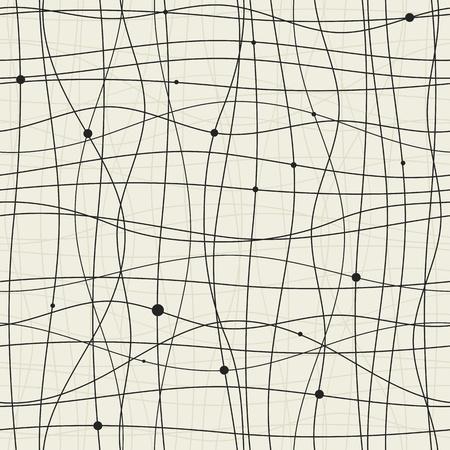 lineas horizontales: Patrón abstracto sin fisuras para su diseño