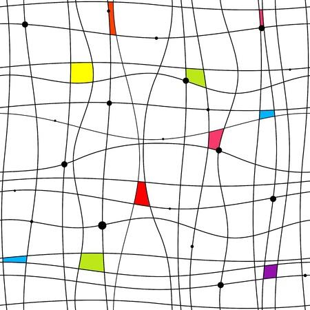 Patrón abstracto sin fisuras para su diseño