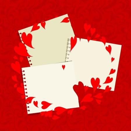 Valentine rám, místo pro vaše fotografie nebo text
