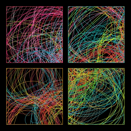 variation: Colorful lines, background for your design