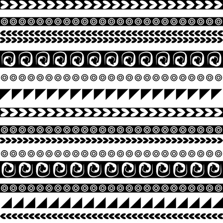 national border: Seamless ethnic ornament for your design