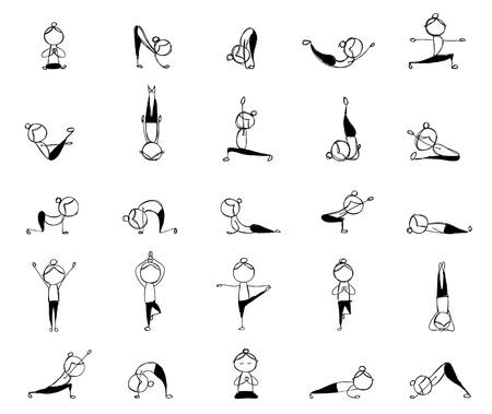 animal practice: Las personas que practican yoga, 25 actitudes para su dise�o