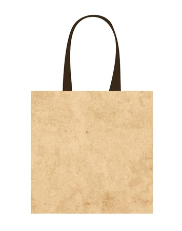 Ecological paper bags for your design Vector